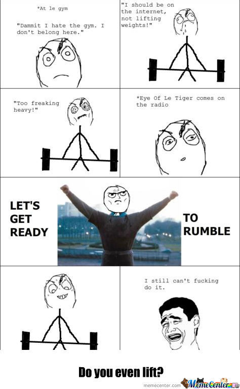 [RMX] Me At The Gym :)