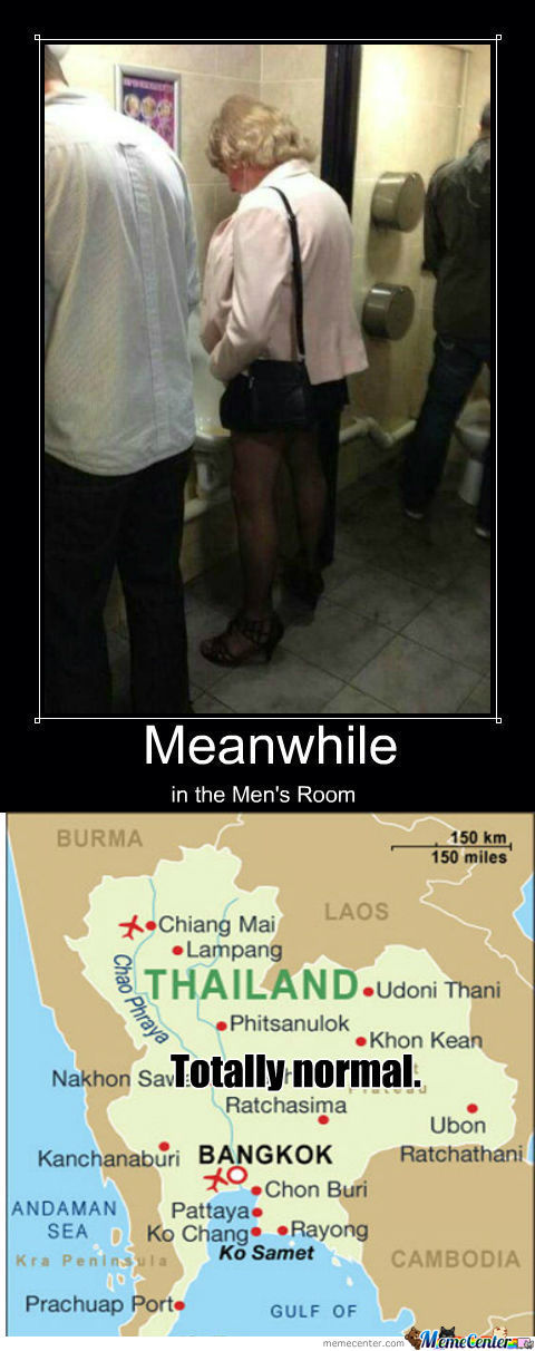 [RMX] Meanwhile In The Men's Room