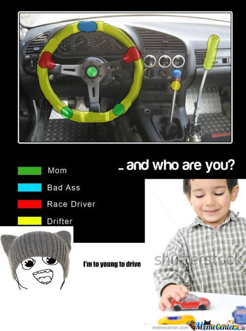 [RMX] Mom & Bad Ass & Race Driver & Drifter .. And Who Are You?