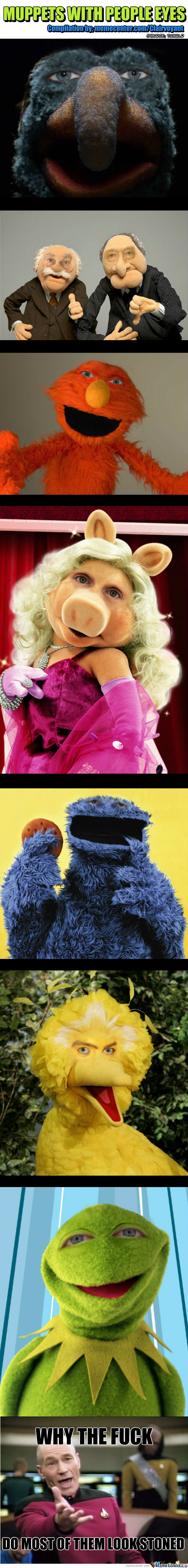 [RMX] Muppets With People Eyes