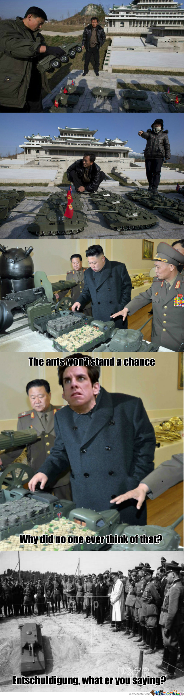 [RMX] North Korea's Army For Ants?!