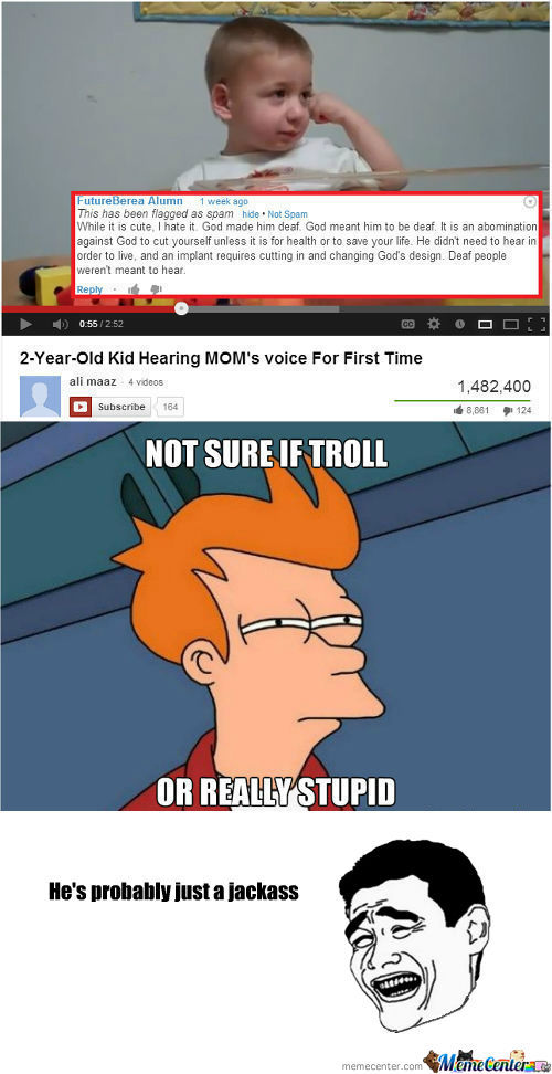 [RMX] Not Sure If Troll, Or Really Stupid