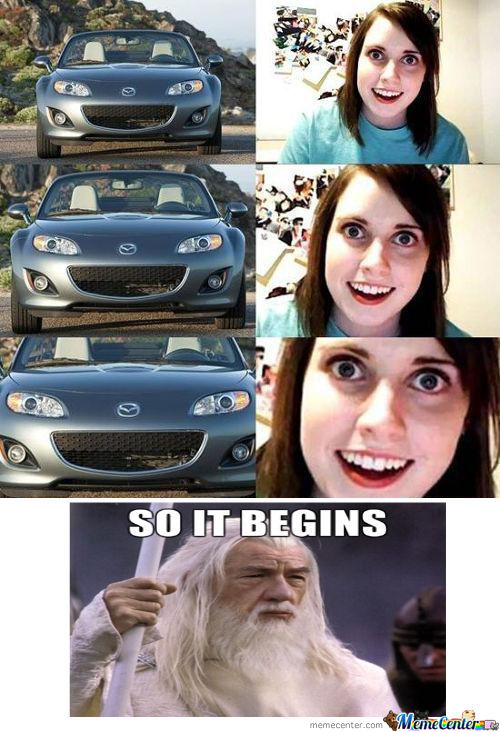[RMX] Overly Attached Girlfriend Looks Like This Car