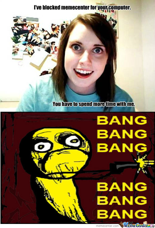Overly Attached Girlfriend Meme Funny | www.pixshark.com ...