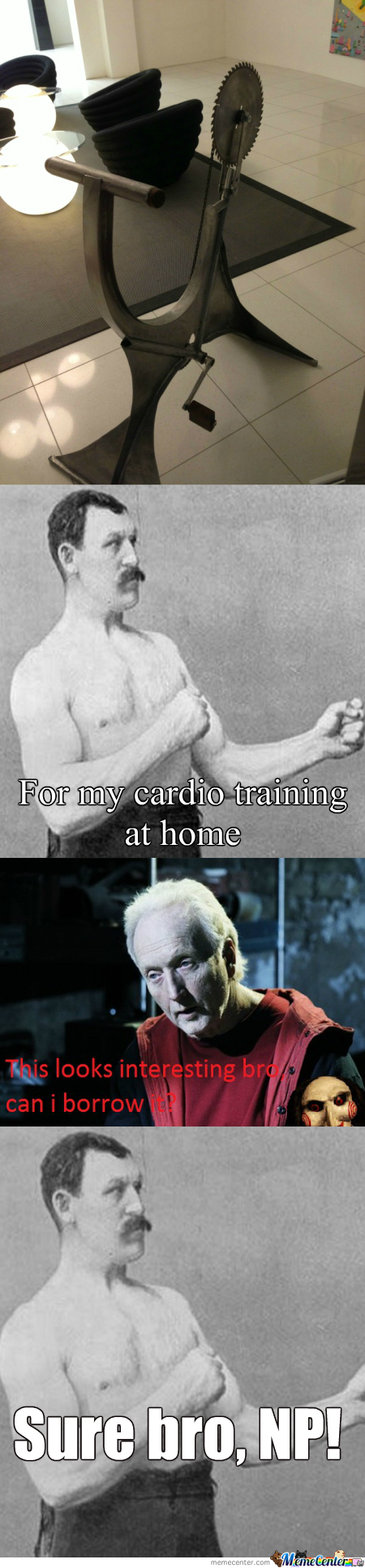 [RMX] Overly Manly Man's Hometrainer