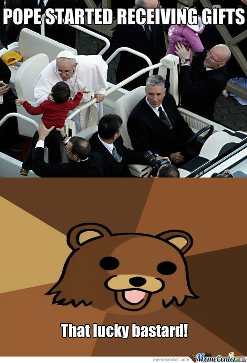 [RMX] Pope Started Receiving Gifts
