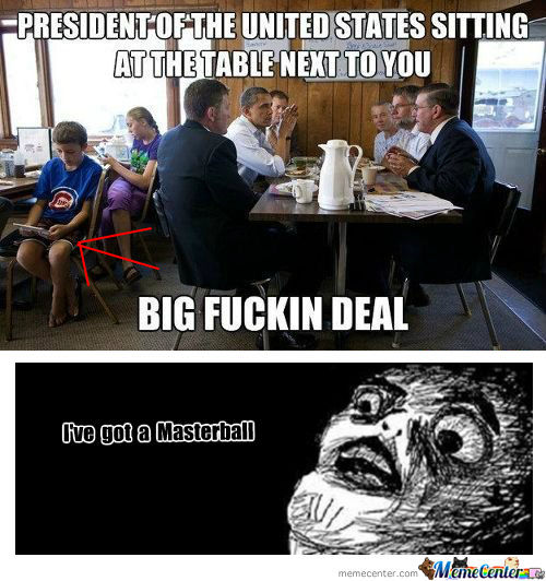 [RMX] President Of The United States Sitting At The Table Next To You