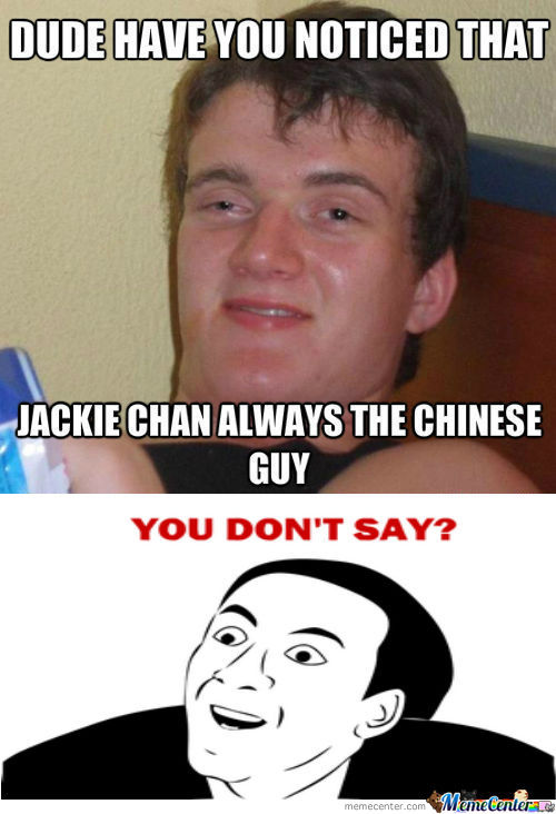 [RMX] Really High Guy Noticed Jackie Chan