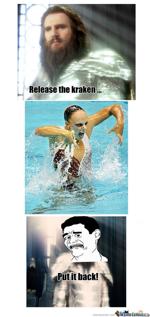 RMX Release The Kraken by mrsnake1234 - Meme Center