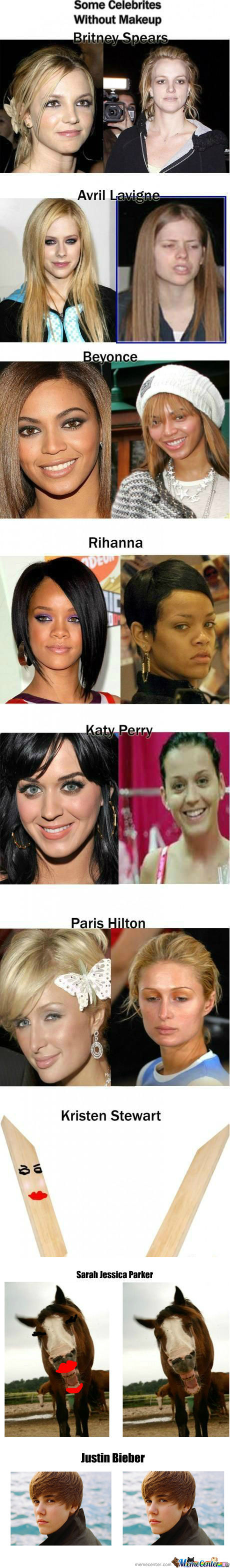 [RMX] [RMX] Celebrities Without Make Up