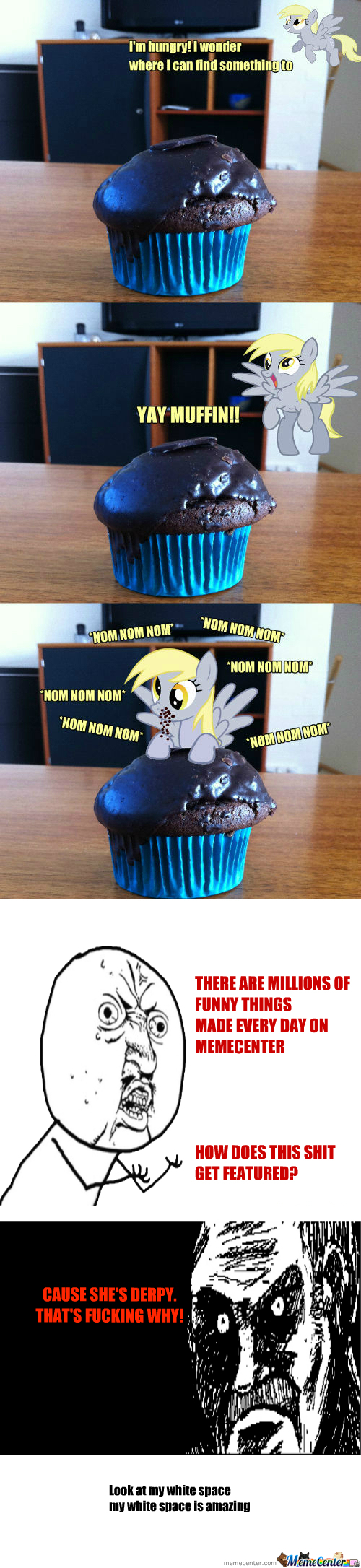 [RMX] [RMX] Derpy Hooves Finds A Chocolate Muffin.