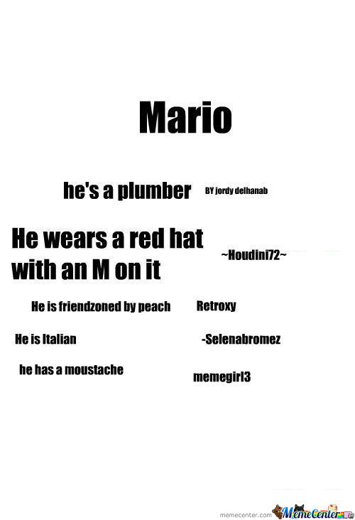 [RMX] [RMX] [RMX] [RMX] [RMX] Like This, Then Re-Mix And One Thing You Know About Mario So Then Everyone Will Know About Mario! Tasha12345.