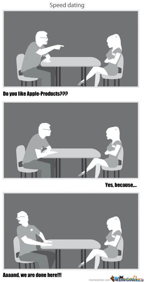 Speed dating i lift