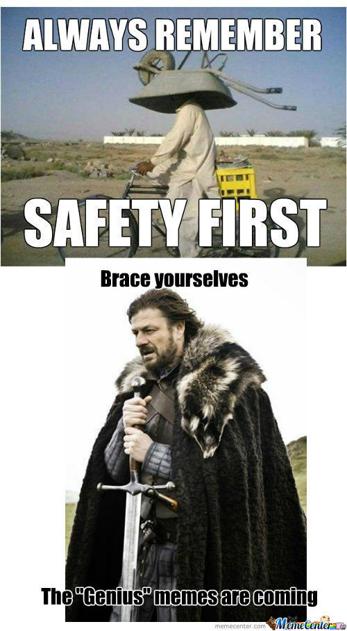 [RMX] Safety First
