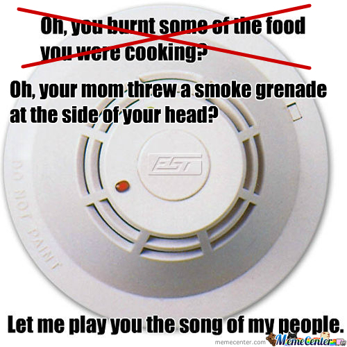 Rmx Scumbag Smoke Detector By Lemurrepublic Meme Center