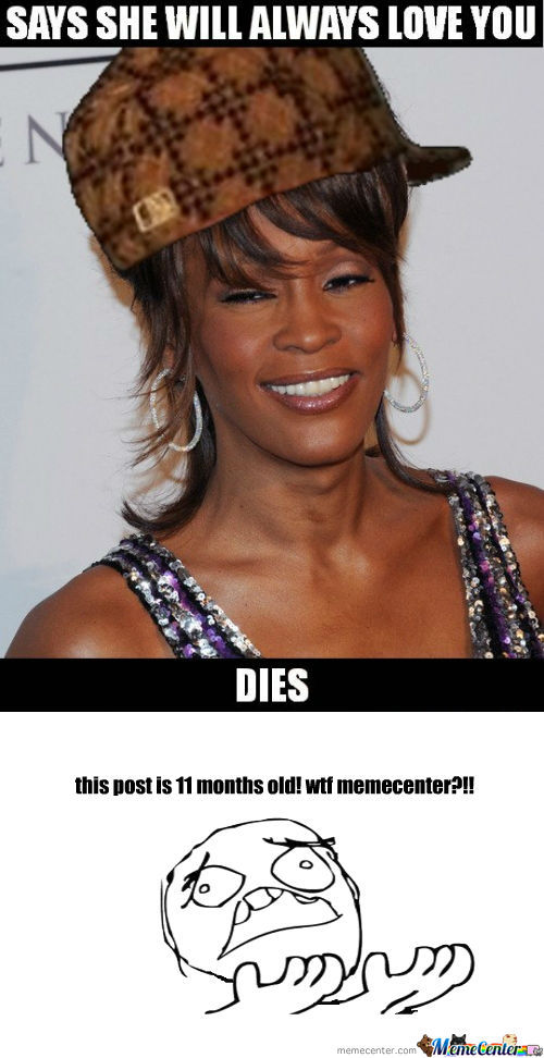 rmx scumbag whitney houston says she will alway love you_o_1098896 rmx] scumbag whitney houston says she will alway love you by,Whitney Houston Memes