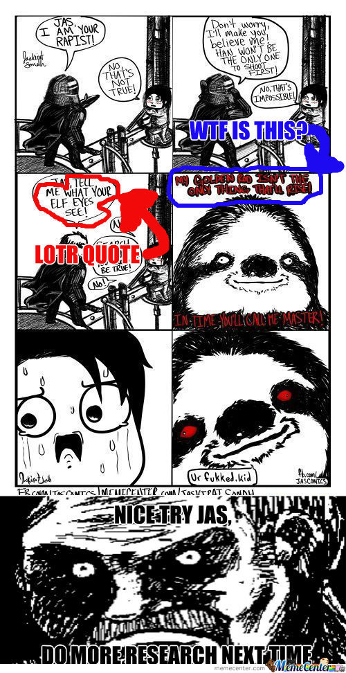 [RMX] Search Your Anus, You Know It Be True! Rape Sloth: Star Wars Edition!