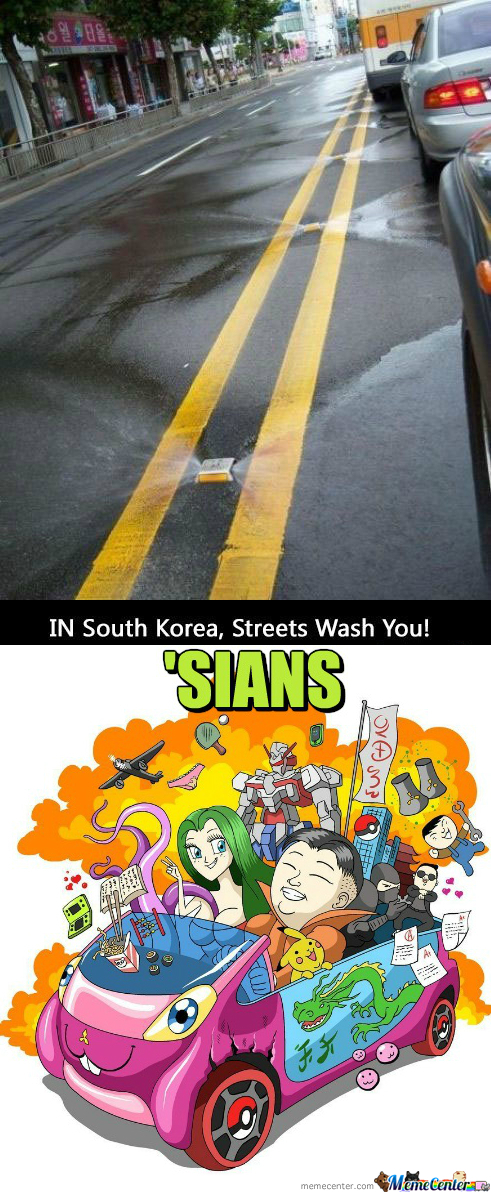 [RMX] Self Cleaning Streets In Korea