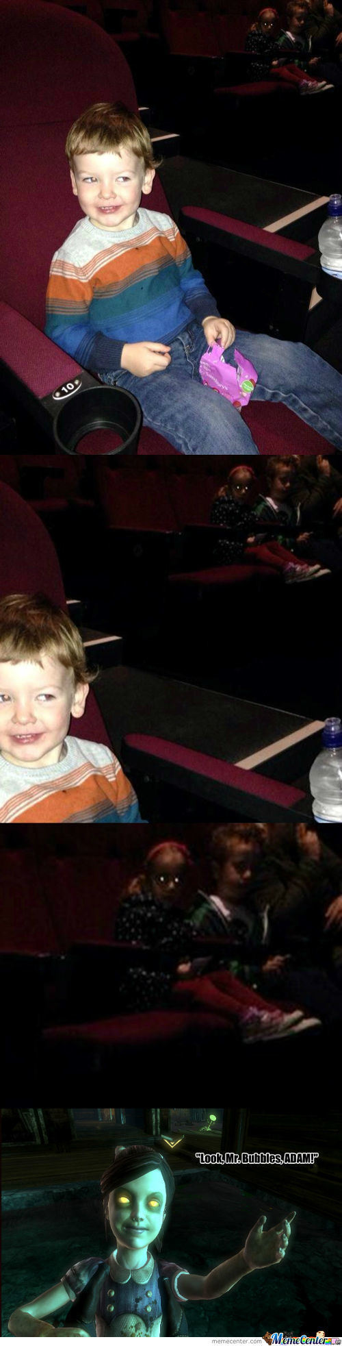 So Basically, My Baby Cousin Went To The Cinema For The First Time The Other Day....