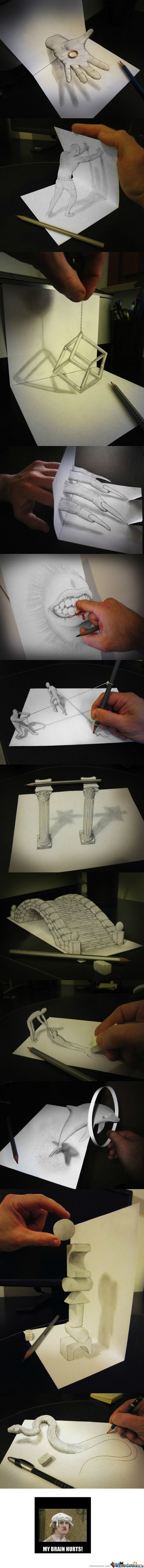 [RMX] Some Awesome People 4#(3D Drawings)
