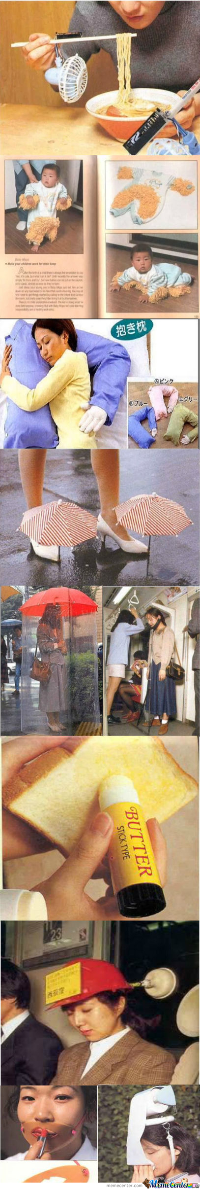 [RMX] Some Funny Japanese Inventions.