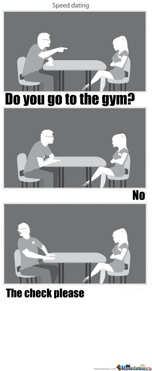 gym speed dating