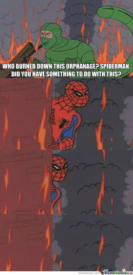 [RMX] Spiderman, Did You Have Something To Do With This?