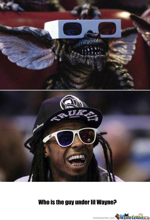 [RMX] Spot The Differences: Lil Wayne - Gremlins