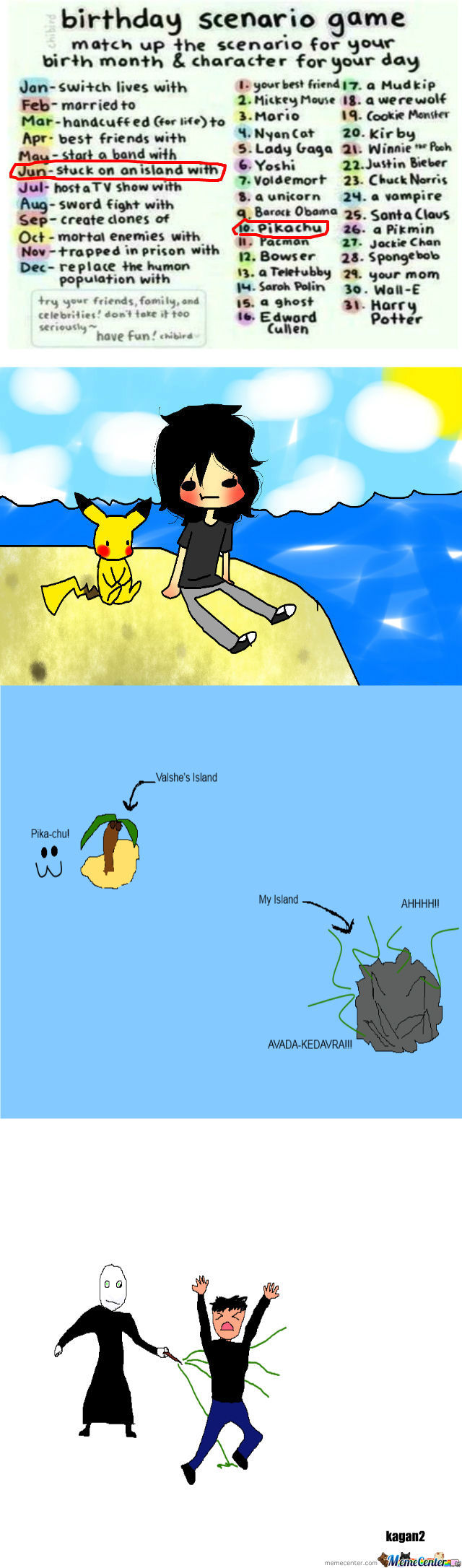 [RMX] Stuck On An Island With Pikachu? 030