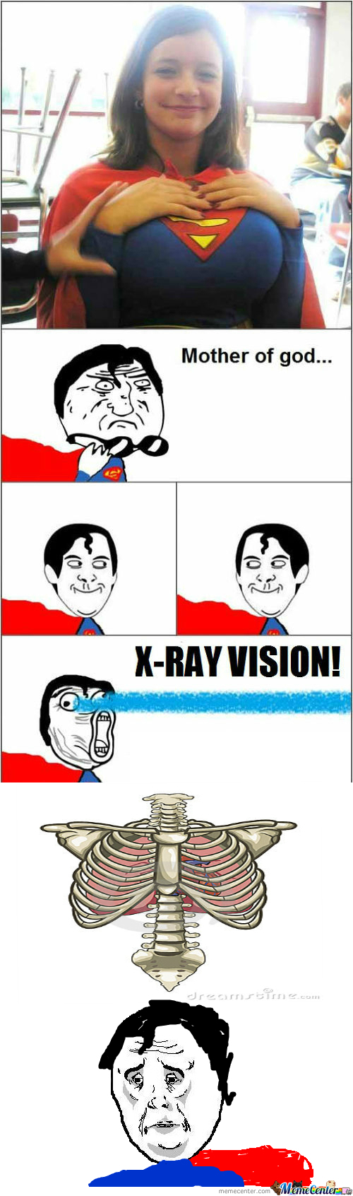 Your superpower xray vision