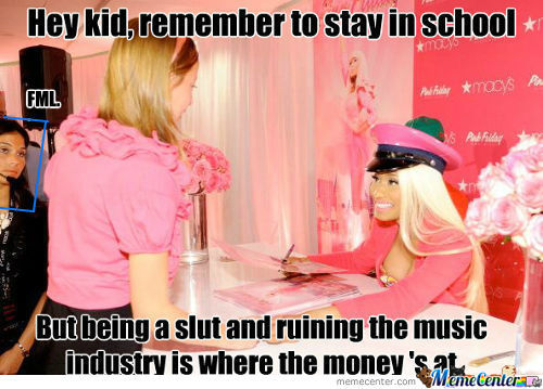 [RMX] Teacher Minaj