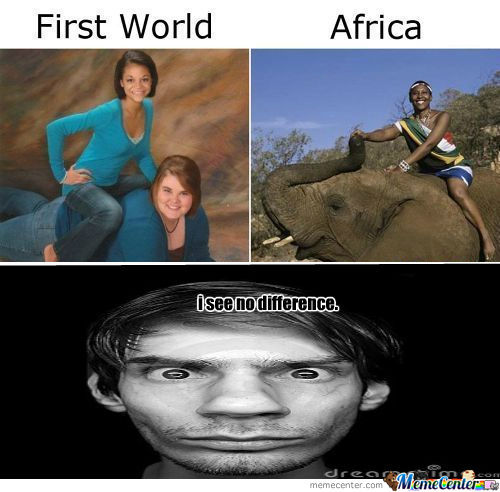 [RMX] The Difference Between Africa And The Third World Countries...