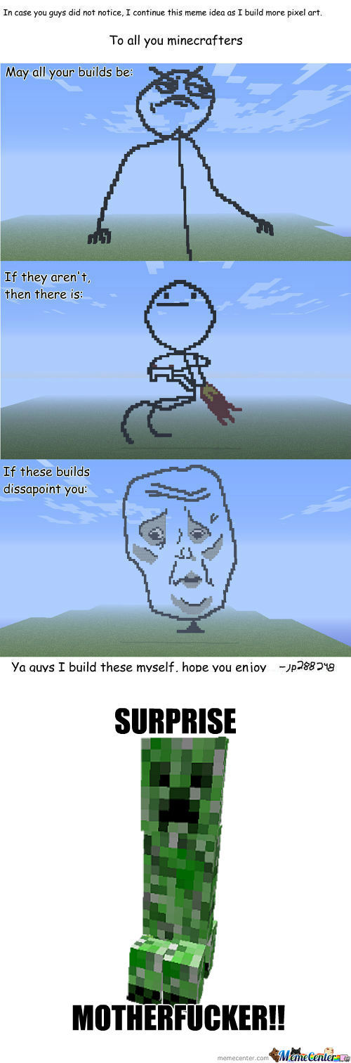 [RMX] The Offspring Of Minecraft And Memecenter Is This Meme