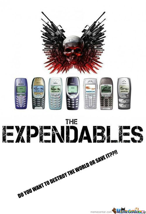 [RMX] The Real Expandables