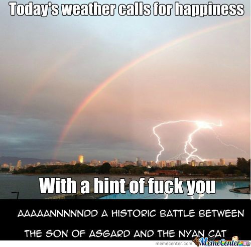 [RMX] Today's Forecast, Life In A Nutshell