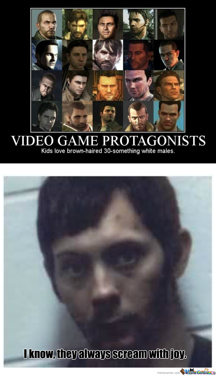 [RMX] Video Game Protagonists