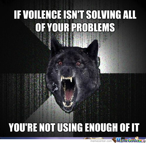 [RMX] Violence, As Told By Insanity Wolf