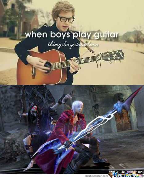 [RMX] When Boys Can Play Guitar