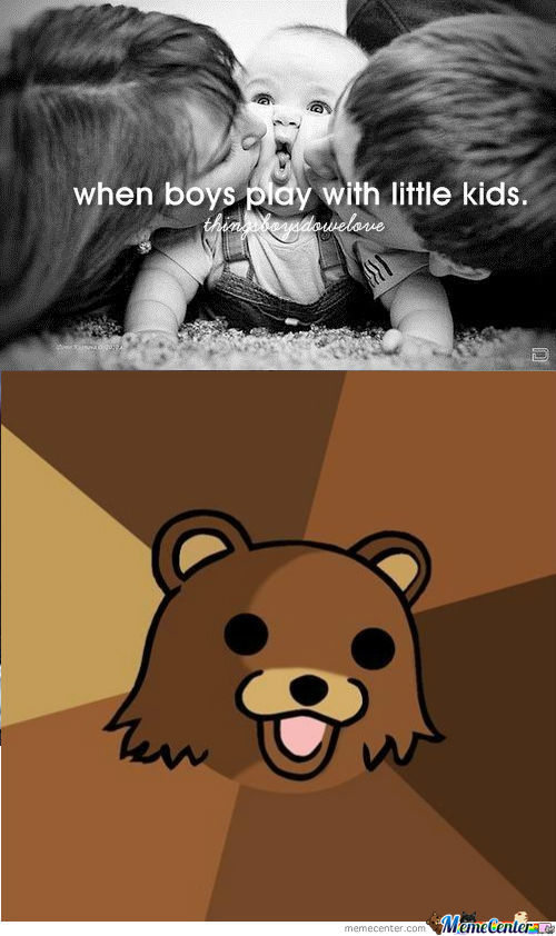 [RMX] When boys play with little kids