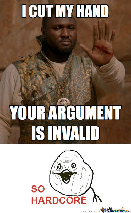 [RMX] Your Argument Is Invalid