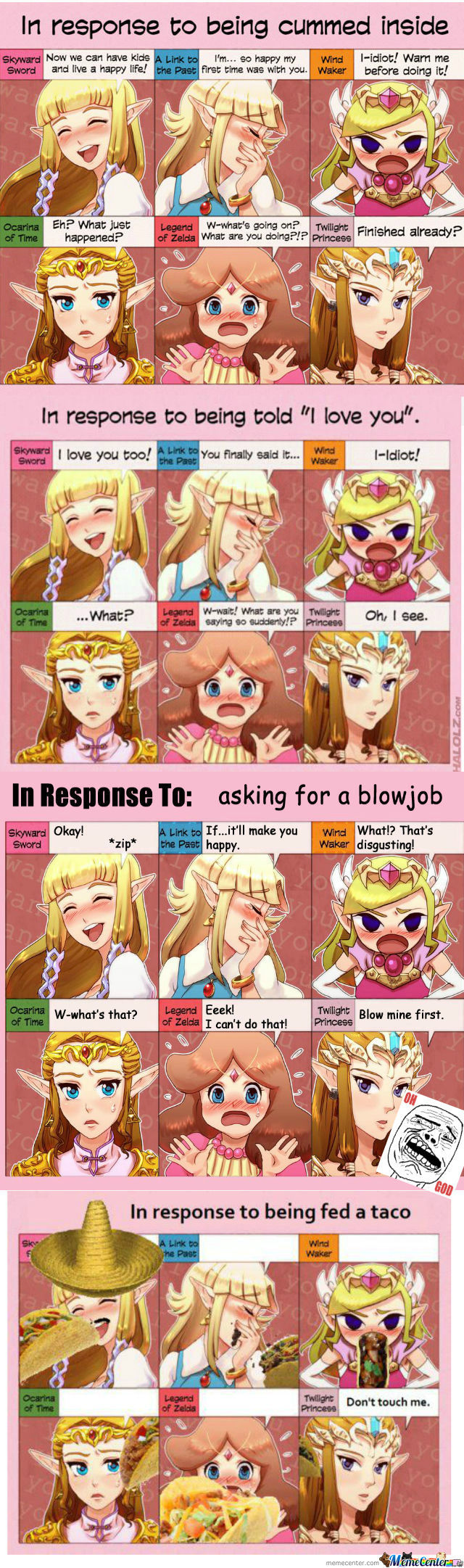 [RMX] Zelda In Response To...