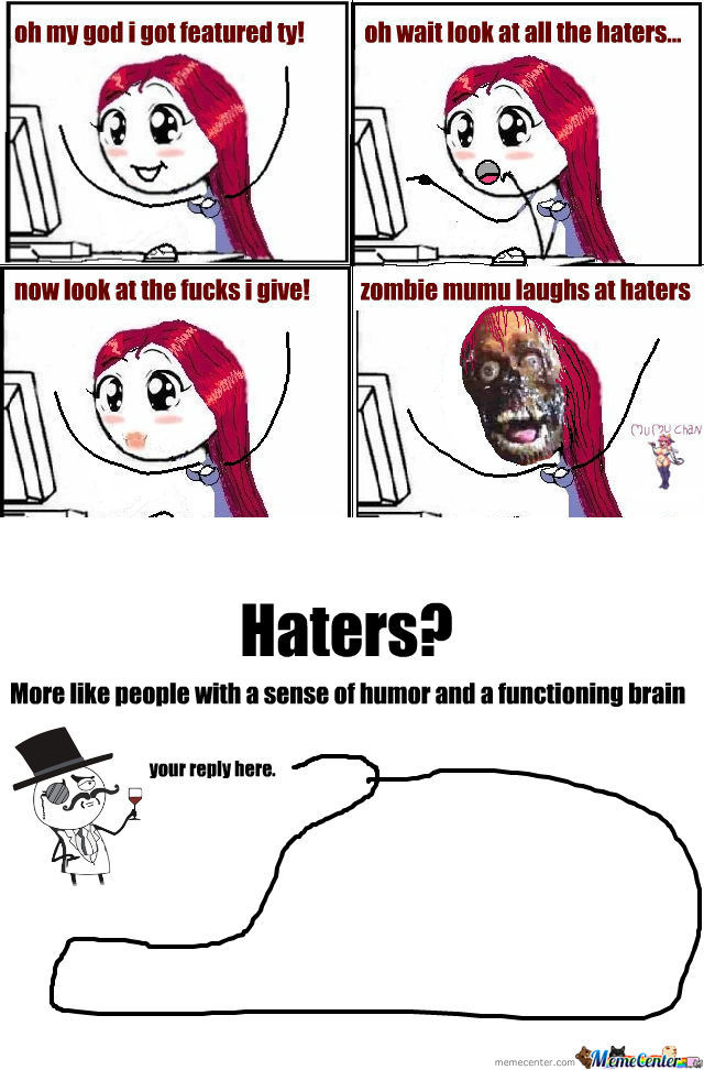 [RMX] Zombie Mumu Laughs At Haters