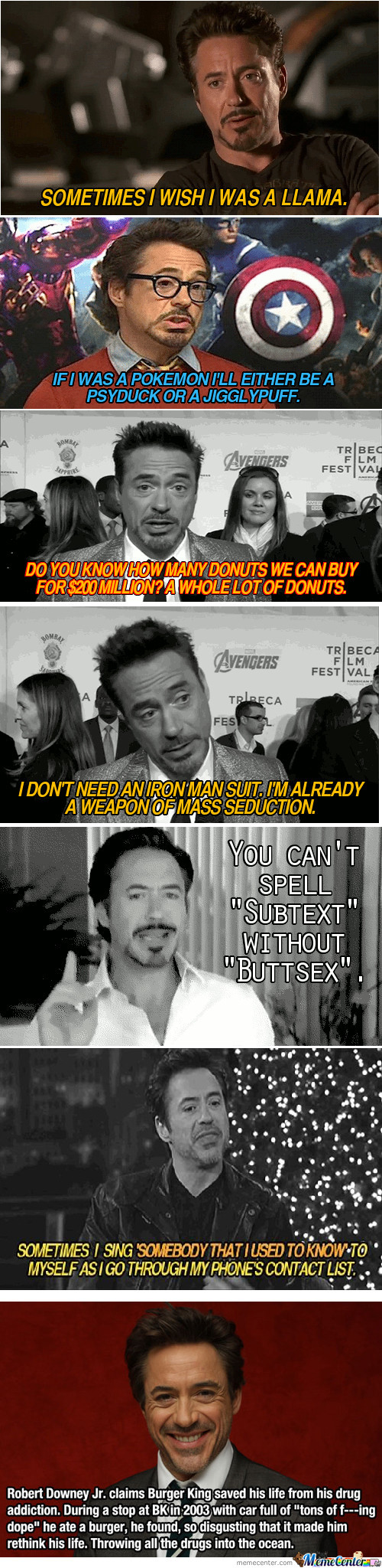 Robert Downey Jr Compilation