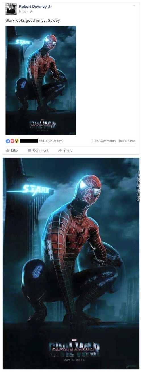 Robert Downey Jr. Dropped This On His Facebook Page