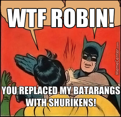 Robin Is Confoozed