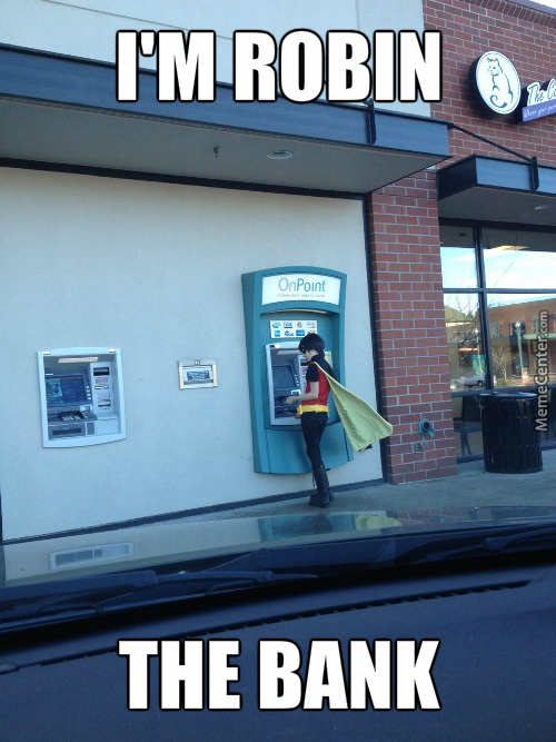 Robin The Bank