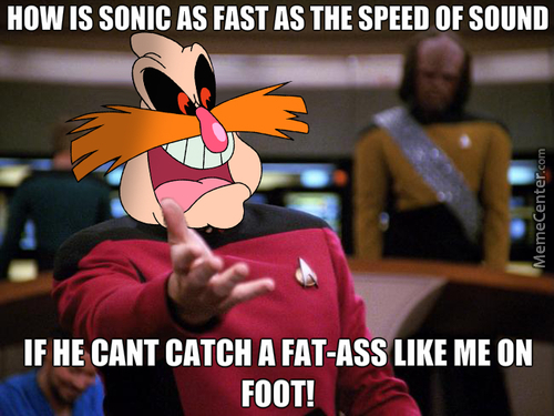 Robotnik Is Confused And Annoyed