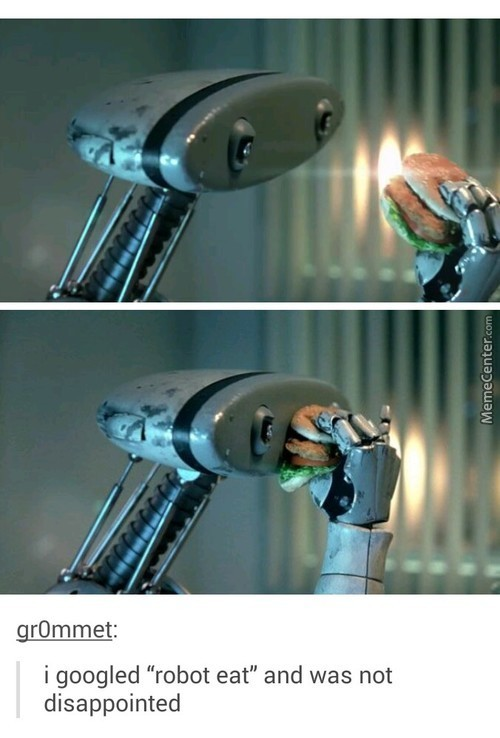 Robots Can't Tho!