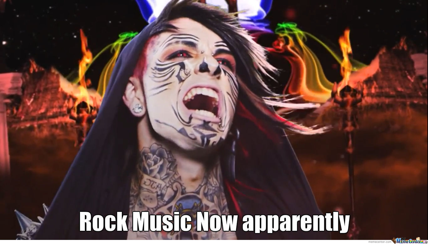 Funny Rock Music Meme : Rock music by cooly meme center
