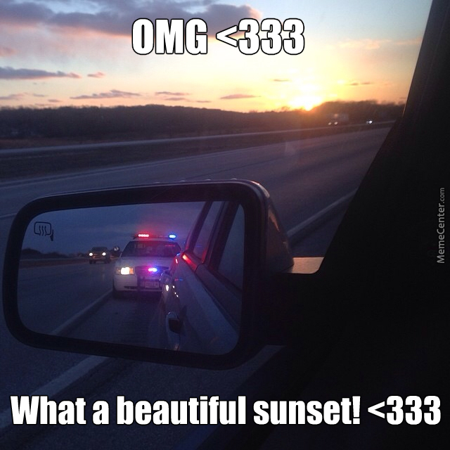 Romantic Relationship With A Cop In 5-4-3-2-1...